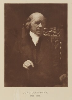 Henry Cockburn, Lord Cockburn, after David Octavius Hill, and  Robert Adamson - NPG Ax29522