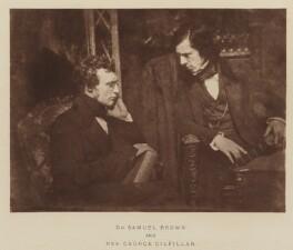 George Gilfillan; Samuel Morrison Brown, after David Octavius Hill, and  Robert Adamson - NPG Ax29523