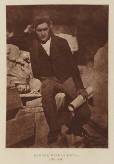 George Meikle Kemp, after David Octavius Hill, and  Robert Adamson, 1843-1848; published 1928 - NPG Ax29524 - © National Portrait Gallery, London