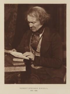 Robert Stephen Rintoul, after David Octavius Hill, and  Robert Adamson - NPG Ax29525