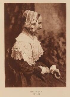 Anne Rigby (née Palgrave), after David Octavius Hill, and  Robert Adamson - NPG Ax29533