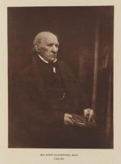 Sir John Gladstone, after David Octavius Hill, and  Robert Adamson - NPG Ax29540
