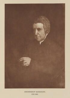 Edward Venables Vernon Harcourt, after David Octavius Hill, and  Robert Adamson, 4 October 1844; published 1928 - NPG Ax29541 - © National Portrait Gallery, London