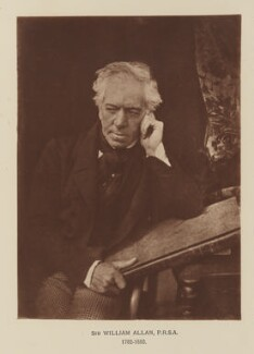 Sir William Allan, after David Octavius Hill, and  Robert Adamson - NPG Ax29542