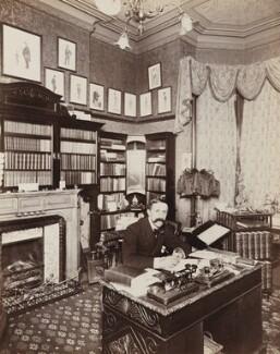Sir Max Pemberton, by Frederic G. Hodsoll - NPG Ax29605
