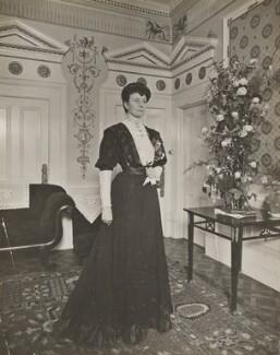 Hon. Pattie Deakin (née Browne), by Frederic G. Hodsoll - NPG Ax29607