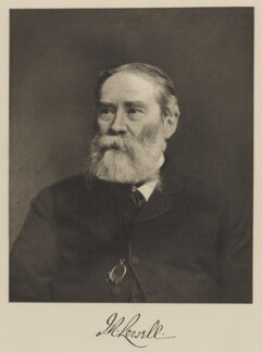 James Russell Lowell, by Unknown photographer - NPG Ax29927