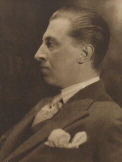 Sir Osbert Sitwell, by Howard Coster, 1927 - NPG Ax3439 - © National Portrait Gallery, London