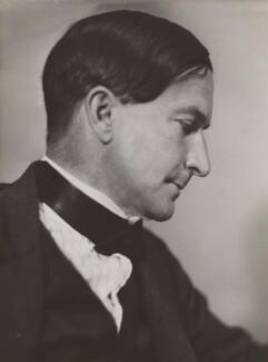 Stacy Aumonier, by Howard Coster, 1926 - NPG Ax3462 - © National Portrait Gallery, London