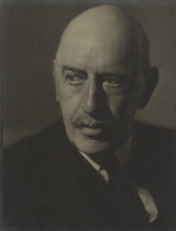 Maurice Baring, by Howard Coster - NPG Ax3516