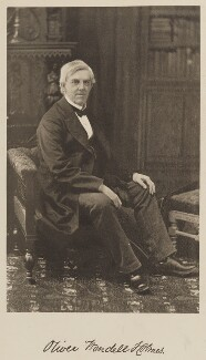 Oliver Wendell Holmes Sr, by Unknown photographer - NPG Ax36248