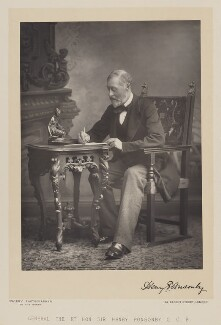 Sir Henry Frederick Ponsonby, by Walery, published by  Sampson Low & Co - NPG Ax38302