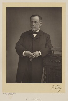 Louis Pasteur, by Walery, published by  Sampson Low & Co - NPG Ax38307
