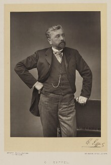 Alexandre Gustave Eiffel, by Walery, published by  Sampson Low & Co, published November 1889 - NPG Ax38308 - © National Portrait Gallery, London