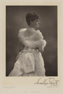 Frances Evelyn ('Daisy') Greville (née Maynard), Countess of Warwick when Lady Brooke, by Walery, published by  Sampson Low & Co - NPG Ax38310