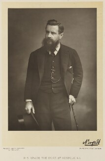 Henry Fitzalan-Howard, 15th Duke of Norfolk, by Walery, published by  Sampson Low & Co - NPG Ax38323