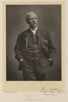Sir Henry Morton Stanley, by Walery, published by  Sampson Low & Co - NPG Ax38329