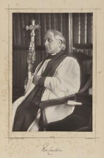 Edward White Benson, by Samuel Alexander Walker, printed by  Waterlow & Sons Ltd - NPG Ax38331