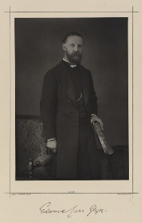 Edward Carr Glyn, by Samuel Alexander Walker, printed by  Waterlow & Sons Ltd, published March 1890 - NPG Ax38359 - © National Portrait Gallery, London