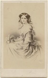 Caroline, Grand Duchess of Saxe-Weimar-Eisenach, by Émile Desmaisons - NPG Ax38444