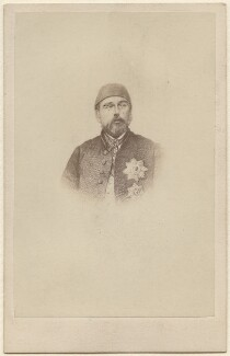 Called Abdul Aziz, by Unknown photographer - NPG Ax38447