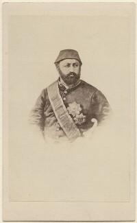 Abdul Aziz, by Unknown photographer, 1860s - NPG Ax38449 - © National Portrait Gallery, London