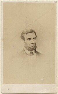 Abraham Lincoln, by J.E. McClees - NPG Ax38455
