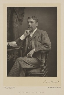 George Du Maurier, by Walery, published by  Sampson Low & Co - NPG Ax38511