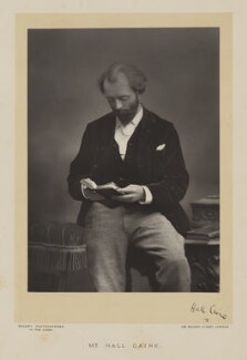 Sir (Thomas Henry) Hall Caine, by Walery, published by  Sampson Low & Co - NPG Ax38518