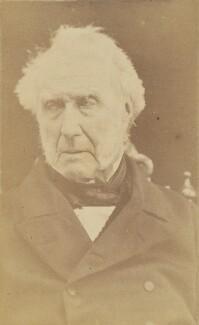 Stephen Lushington, by Unknown photographer - NPG Ax38681