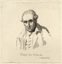 Dominic Serres, by Mary Dawson Turner (née Palgrave), after  Ozias Humphry - NPG D9494