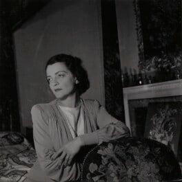 Georgia Sitwell (née Doble), by Francis Goodman, circa 1951 - NPG Ax39596 - © National Portrait Gallery, London