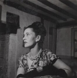 Kathleen Frances ('Katharine') Sutherland (née Barry), by Francis Goodman - NPG Ax39624