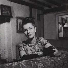 Kathleen Frances ('Katharine') Sutherland (née Barry), by Francis Goodman - NPG Ax39626