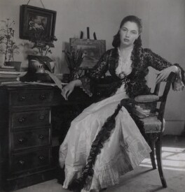 Rhoda Helen ('Dodie') Masterman, by Francis Goodman - NPG Ax39634
