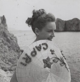 Phyllis Calvert during the filming of 'The Golden Madonna', by Francis Goodman, 1948 - NPG  - © National Portrait Gallery, London
