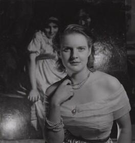 Ruth Judith ('Judy') Lassalle (née Richardson), by Francis Goodman - NPG Ax39686