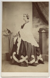 Elizabeth Georgiana (née Sutherland-Leveson-Gower), Duchess of Argyll, by Thomas Rodger, 1860s - NPG Ax39791 - © National Portrait Gallery, London