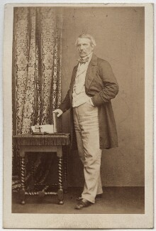 John Laird Mair Lawrence, 1st Baron Lawrence, by John & Charles Watkins, 1860s - NPG Ax39797 - © National Portrait Gallery, London