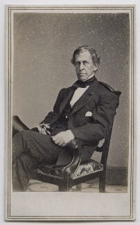Charles Wilkes, published by Edward & Henry T. Anthony, after  Mathew B. Brady - NPG Ax39814