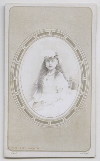 Princess Beatrice of Battenberg, by Disdéri - NPG Ax39816