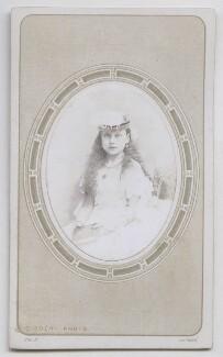 Princess Beatrice of Battenberg, by Disdéri, November 1866 - NPG Ax39816 - © National Portrait Gallery, London