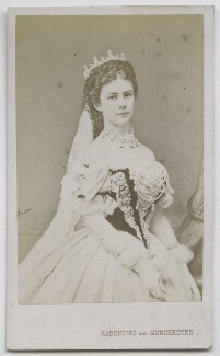 Elisabeth, Empress of Austria, by Rabendung & Monckhoven - NPG Ax39871