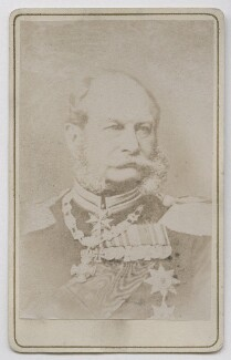 Wilhelm I, Emperor of Germany and King of Prussia, by Unknown photographer - NPG Ax39875