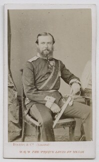 Louis IV, Grand Duke of Hesse and by Rhine, by Disdéri, 1860s-1870s - NPG Ax39878 - © National Portrait Gallery, London