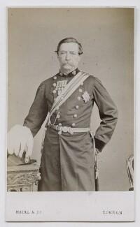 Sir Charles Napier, by Maull & Co - NPG Ax39879