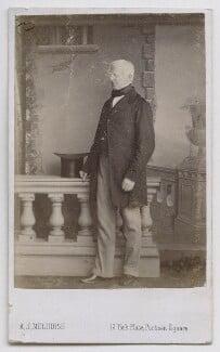 Robert Lowe, 1st Viscount Sherbrooke, by A.J. (Arthur James) Melhuish - NPG Ax39881