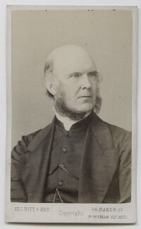 Reverend Edmond, by Elliott & Fry, 1860s-1870s - NPG Ax39906 - © National Portrait Gallery, London