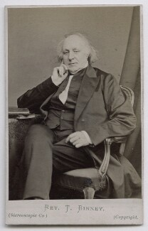 Thomas Binney (Benny), by London Stereoscopic & Photographic Company, 1860s-1870s - NPG Ax39936 - © National Portrait Gallery, London