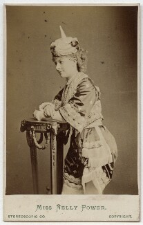 Nelly Power, by London Stereoscopic & Photographic Company - NPG Ax39941